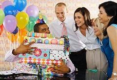 Открытка «Спасибо за поздравления с днём рождения»
