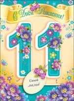 День рождения поздравления по именам 12 лет девочке фото 861